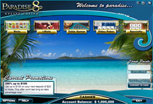 paradise 8 casino sign up